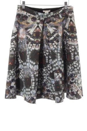 H&M Jupe taille haute motif abstrait style décontracté