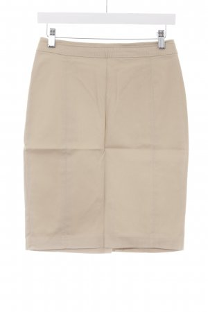 H&M High Waist Skirt camel simple style