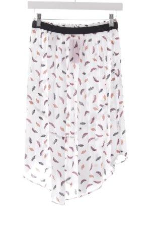 H&M Jupe taille haute motif floral style décontracté