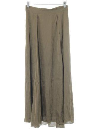 H&M High Waist Skirt ocher casual look