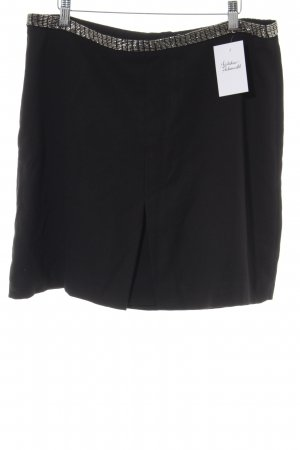 H&M High Waist Rock schwarz Elegant