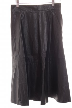 H&M High Waist Rock schwarz Street-Fashion-Look