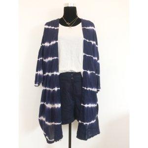 H&M High Waist Shorts 38 40 Navy Blau maritimer Style kurze Hose Neu