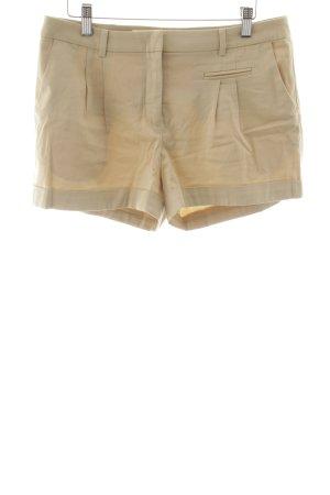 H&M High-Waist-Shorts beige klassischer Stil