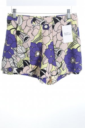 H&M High-Waist-Shorts florales Muster