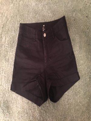 H&M High Waist Shorts, Gr 34