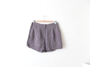 H&M high Waist Shorts Gr. M 40 38 grau overized wie neu trend hot pants