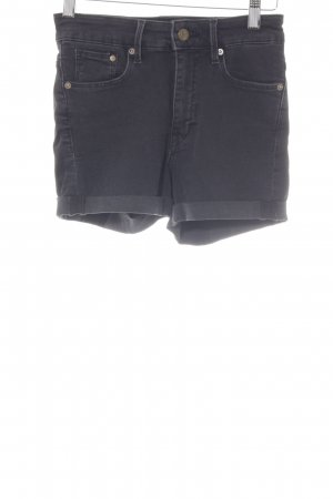 H&M High-Waist-Shorts schwarz Casual-Look