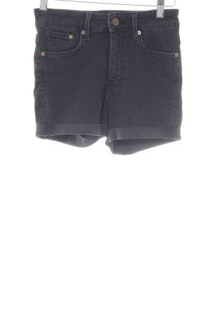 H&M High-Waist-Shorts black casual look