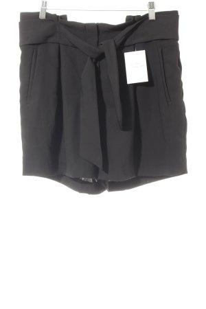 H&M Short taille haute noir élégant