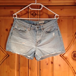 H&M High Waiste Jeansshorts in M