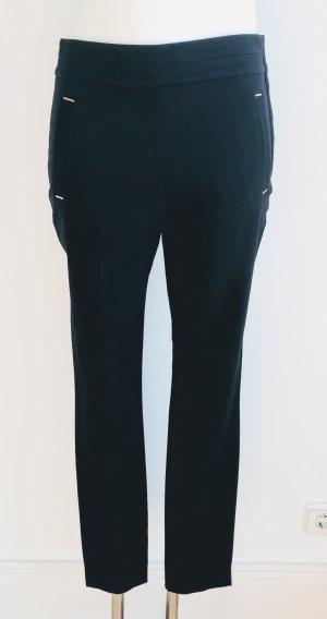 H&M Pantalon cigarette noir