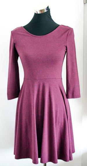 H&M HM Kleid, nur 1x getragen, weinrot, Gr. S / 36