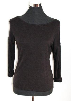 H&M HM leichtes Sweatshirt, schwarz, Gr. XS wie 36, ungetragen