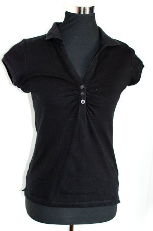 H&M HM Polo in schwarz, S wie 34/36, super wenig getragen