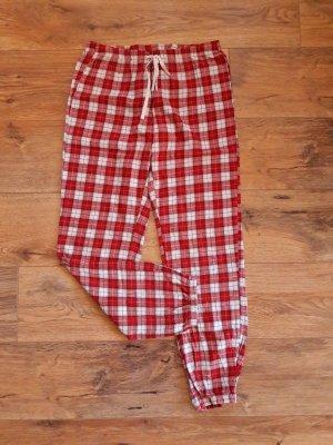 H&M Pyjama wit-rood
