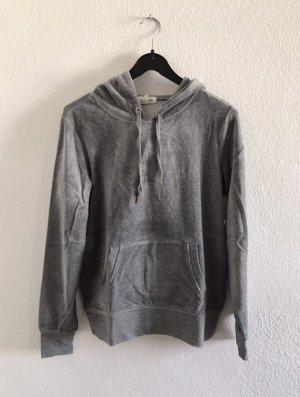 H&M Maglione con cappuccio grigio