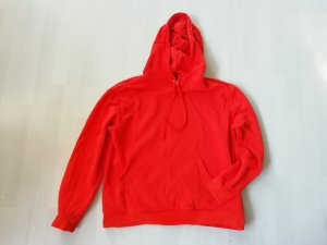 H&M Hooded Sweater bright red