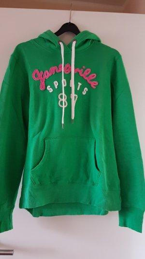 H&M L.O.G.G. Capuchon sweater groen
