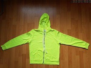 H&M Hoodie Sweatshirt Neon Gelb