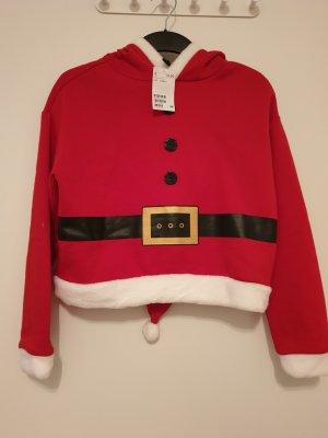 H&M Hoodie, Sweatshirt Weihnachtsmann, Gr. S