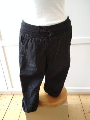 H&M Pantalon 3/4 noir coton