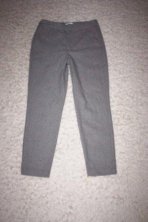 H&M Pantalon en laine gris-gris clair
