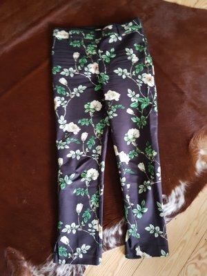 H&M Hose mit Blumen Grösse 38