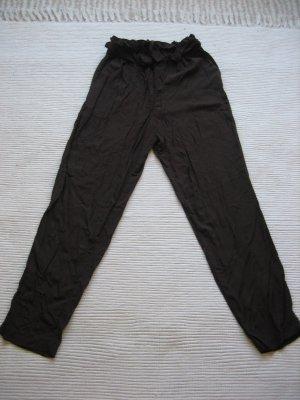 H&M Hoge taille broek bruin