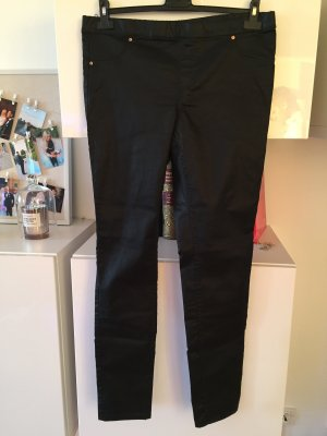 H&M Hose schwarz beschichtet Gr 44 neu