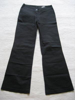 H&M hose schwarz gr 34 xs top zustand