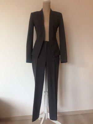 H&M Tailleur pantalone grigio-grigio scuro