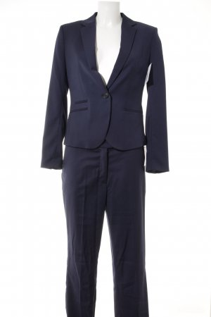 H&M Hosenanzug dunkelblau Business-Look