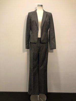 H&M Traje de pantalón negro-gris Poliéster