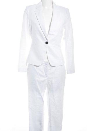 H&M Hosenanzug weiß-schwarz Elegant
