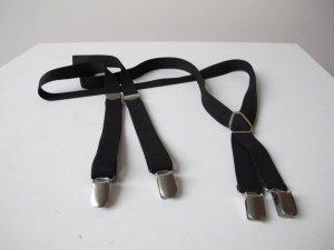 H&M Bretelles noir-argenté