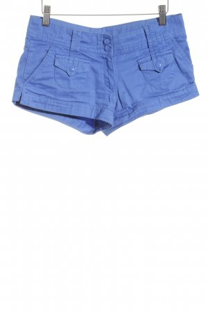 H&M Hot Pants blau Casual-Look