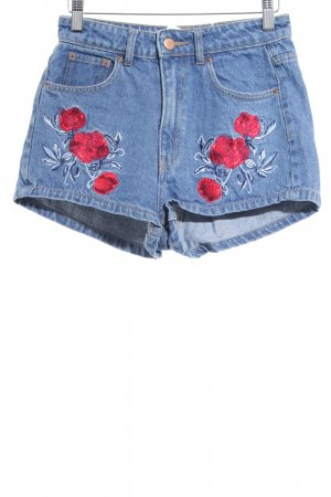 H&M Hot Pants Blumenmuster Casual-Look