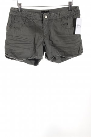 H&M Hot Pants khaki casual look