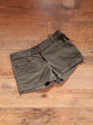 H&M Hot Pants Shorts khaki Gr. 38