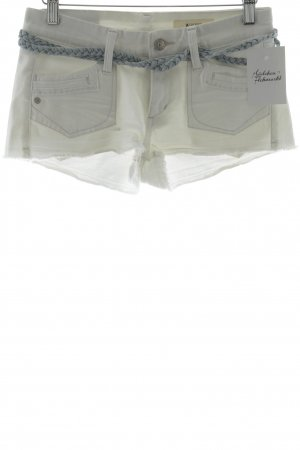 H&M Hot Pants white-pale blue casual look
