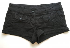 H&M - Hotpant - Schwarz - 40 (passt 38)
