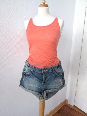 H&M Hotpants Jeansshorts neu mit Etikett Gr. 36