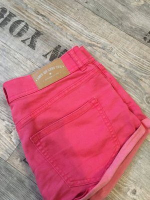 H&M Hotpants shorts kurze Hose in rot jeansshorts