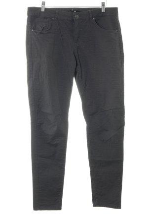 H&M Pantalone a vita bassa grigio stile casual
