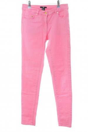 H&M Hüftjeans pink Casual-Look