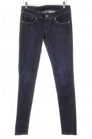 H&M Low Rise Jeans dark blue casual look