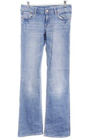H&M Jeans vita bassa azzurro stile casual