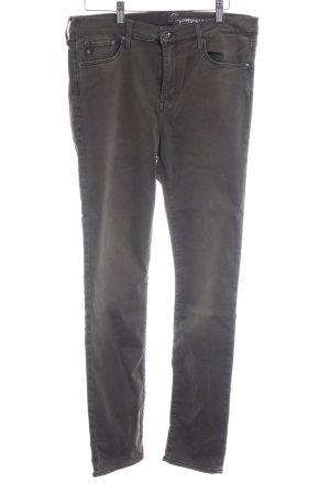 H&M Jeans taille basse kaki style décontracté