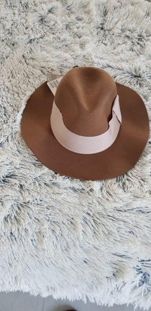 HM Chapeau brun-rosé